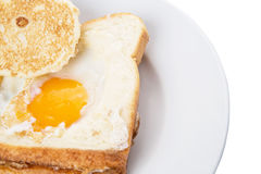 Egg In The Basket VI Royalty Free Stock Photos