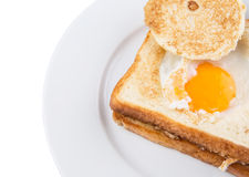Egg In The Basket VIII Royalty Free Stock Photography