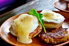 Egg Benedict 1 stock images
