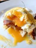 Egg Benedict Stock Photo