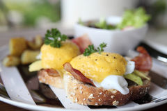 Egg benedict Royalty Free Stock Photos