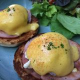 Egg benedict Royalty Free Stock Photo
