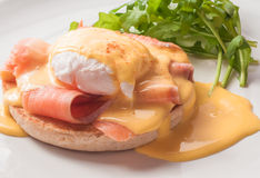 Egg Benedict Stock Photography
