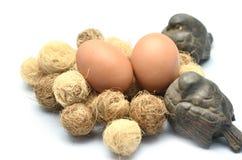 Egg and bird Royalty Free Stock Photo
