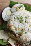 Egg Biryani - An Indian egg based rice dish Stock Images