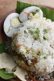 Egg Biryani - An Indian egg based rice dish Stock Images