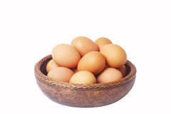 Egg in Bowl Royalty Free Stock Photo