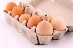 Egg box Royalty Free Stock Photos