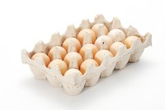 Egg box Royalty Free Stock Photography