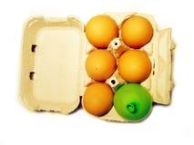 Egg box Royalty Free Stock Photo