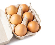 Egg box Royalty Free Stock Images