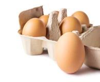 Egg box Royalty Free Stock Image