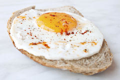 Egg and Bread Royalty Free Stock Image