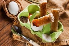 Egg for breakfast. Stock Images
