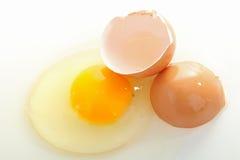 Egg broken Royalty Free Stock Photos