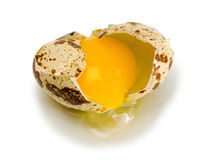 Egg broken Royalty Free Stock Photo