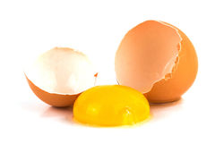 Egg broken Royalty Free Stock Photography