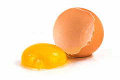 Egg broken Royalty Free Stock Image