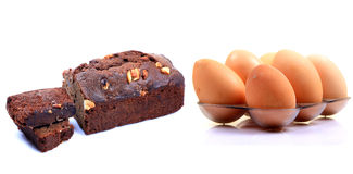Egg cake Stock Photo