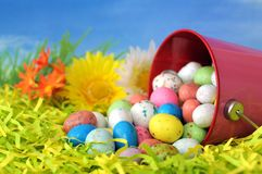 Egg candy for Easter Royalty Free Stock Photos