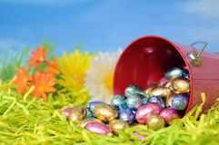 Egg candy for Easter day Stock Photography