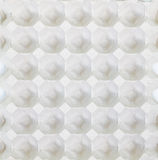 Egg carton package in top view Royalty Free Stock Image