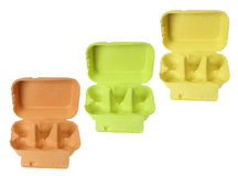 Egg Cartons Royalty Free Stock Images