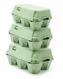 Egg Cartons Royalty Free Stock Photography