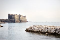 Egg Castle (Castel dell'Ovo), Naples, Italy Stock Photo