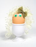 Egg character. Stock Photo