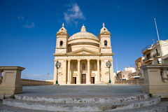 Egg church, Malta. The egg church in the town of Mgarr in Malta Stock Image