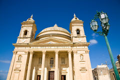 Egg church, Malta Royalty Free Stock Photos