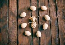 Egg circle Royalty Free Stock Photo