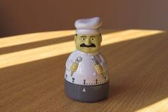 Egg clock Landscape. Egg boiling clock landscape royalty free stock image