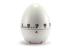 Egg clock - 15 minutes Royalty Free Stock Photography
