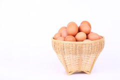 Egg. Collection isolated on white background Stock Image