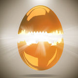 Egg concept 3d background Stock Images