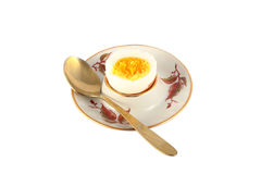Egg cooked chicken Royalty Free Stock Images