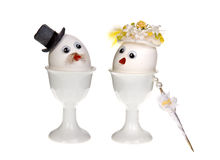 Egg couple Stock Image