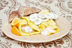 Egg Crepes Stock Images