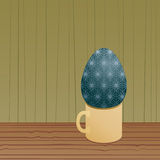 Egg cup Stock Photography