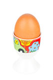 Egg in a cup Stock Image