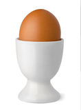 Egg in cup Royalty Free Stock Images
