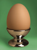 Egg in the cup Stock Photos