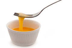 Egg in cup Stock Images