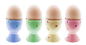 Egg Cups Stock Photos