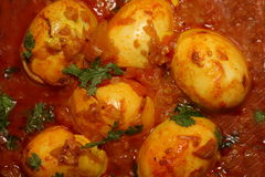 Egg Curry Royalty Free Stock Photo