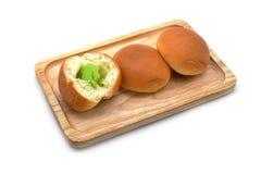 egg custard bread Royalty Free Stock Photography