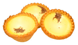 Egg Custard Tarts Royalty Free Stock Photography