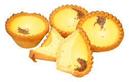 Egg Custard Tarts Stock Images